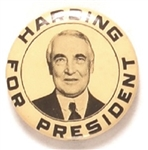 Harding for President, Smiling Photo