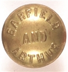 Garfield, Arthur Brass Clothing Button