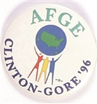AFGE for Clinton, Gore 96