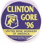 Mine Workers for Clinton, Gore 96