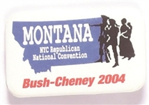 Bush, Cheney Montana 2004 Convention Pin