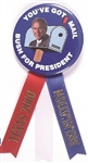 George W. Bush Youve Got Mail 2000 Convention Pin