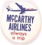 McCarthy Airlines Always a Trip