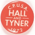 Hall, Tyner Communist Party 1972