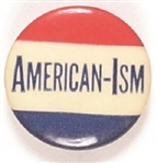 American-Ism Pre World War II Celluloid