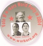 Parker Workers World Party, Karl Marx