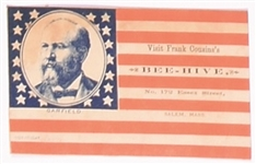 James Garfield Trade Card