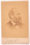 James Garfield Cabinet Card