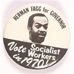 Herman Clegg for Governor Socialist Workers Party, California