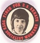 Finch for Senate New York Socialist Workers Party
