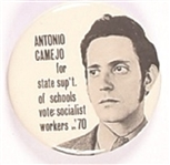 Camejo California Socialist Workers Party Celluloid
