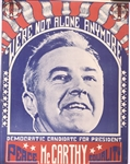 McCarthy Peace, Equality Poster
