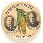 Taft, Sherman Bloomington Club No. 1 Ear of Corn