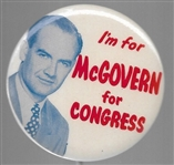 I'm for McGovern for Congress