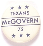 Texans McGovern Six Stars Pin