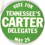 Voter for Carter Tennessee's Delegates