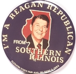Southern Illinois Reagan Republican Duquoin State Fair Pin