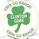 Clinton Erin Go Braugh Chicago Parade Pin