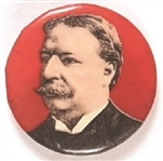 Taft Scarce Red Background Celluloid
