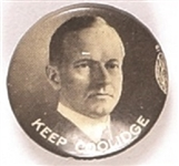 Keep Coolidge Black, White Celluloid
