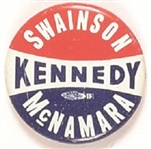 Kennedy, Swainson, McNamara Michigan Coattail