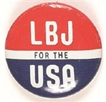 LBJ for the USA Litho