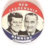 Kennedy, Johnson New Leadership Jugate