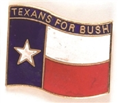 Texans for Bush 1988 Republican Delegation Pin
