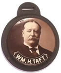Wm. H. Taft Sepia Celluloid Fob
