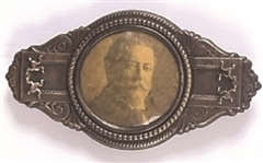 Taft Unusual Metal Pinback