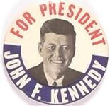 Kennedy for President 1960 Classic Design Celluloid