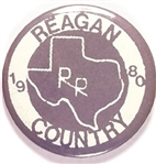 Reagan 1980 Texas RR Country