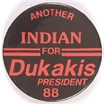 Another Oklahoma Indian for Dukakis