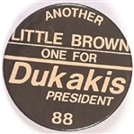 Another Oklahoma Little Brown One for Dukakis