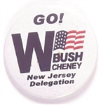 George W. Bush New Jersey 2004 Delegation
