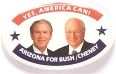 Bush, Cheney Arizona Oval 2004 Jugate