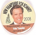New Hampshire for Romney