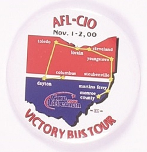 Gore AFL-CIO Ohio Bus Tour