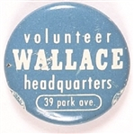 Wallace Headquarters Volunteer