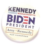 Biden, Kennedy Massachusetts and New Jersey Pin