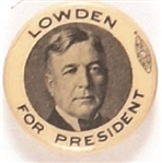 Lowden for President
