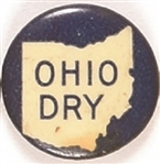 Prohibition Ohio Dry