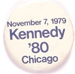 Kennedy 1979 Announcement Pin