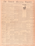 Tilden 1876 Victory Newspaper
